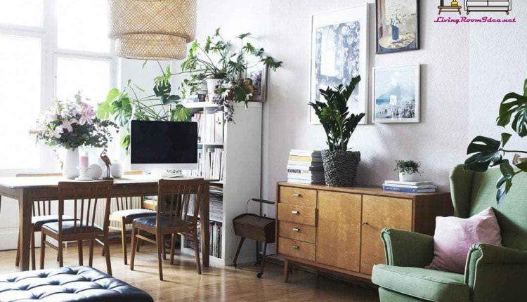 Ikea Living Room Ideas – Minimal Lines with Plants