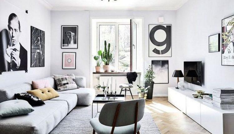 4 Wohnzimmermöbel-Accessoires zur Ergänzung eines modernen Schnittsofas