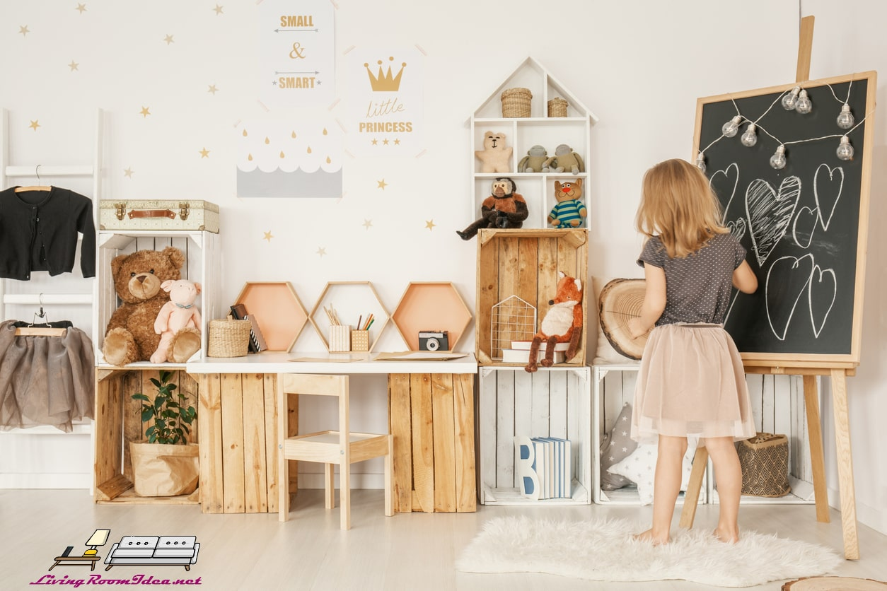 Let Wall Shelves Become an Exhibition Space – Kids Room Decoration Ideas