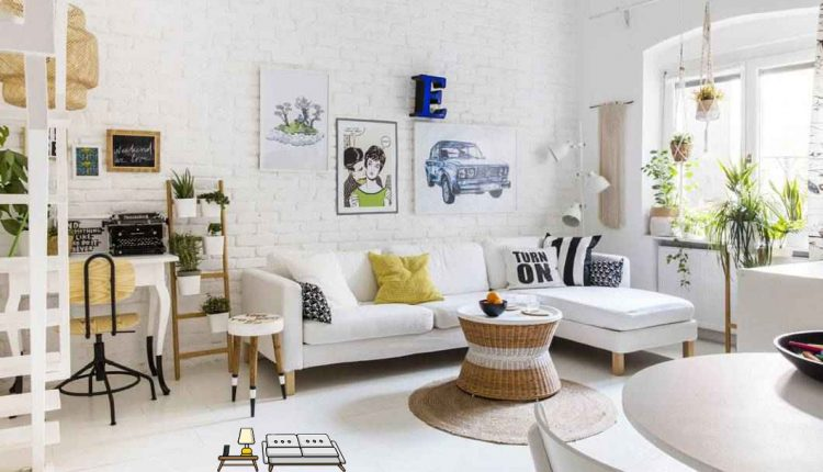 Living Room Decoration Ideas with Ikea Designs