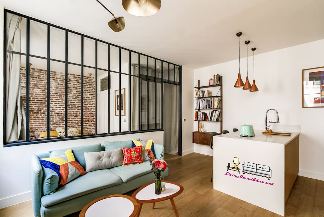Living Room Decoration – Stay away from complex shapes