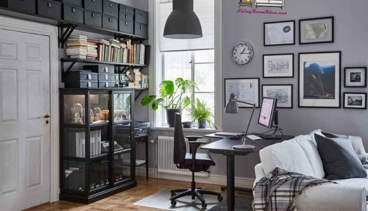 Living room ideas for those who work at home as well as at work