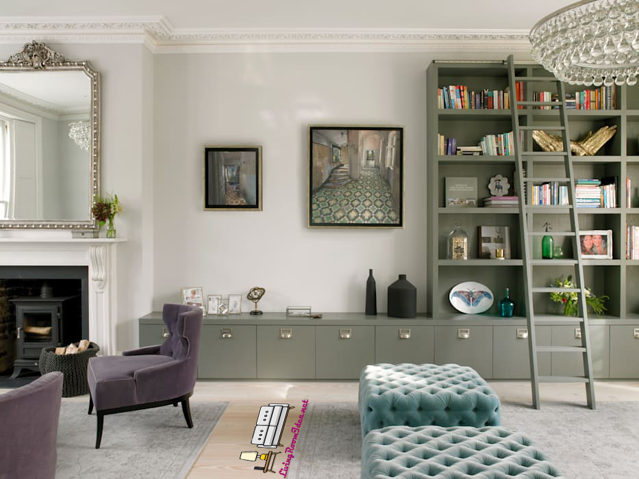 Small Living Room Ideas – Add fresh air to the space with living plants
