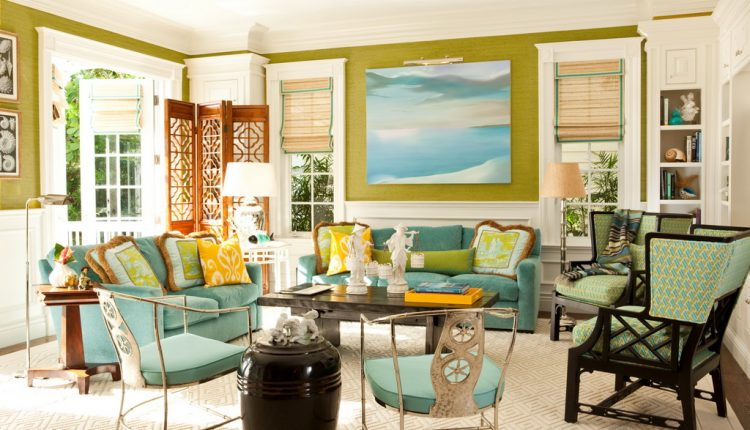 Tropical Style Living Room Design