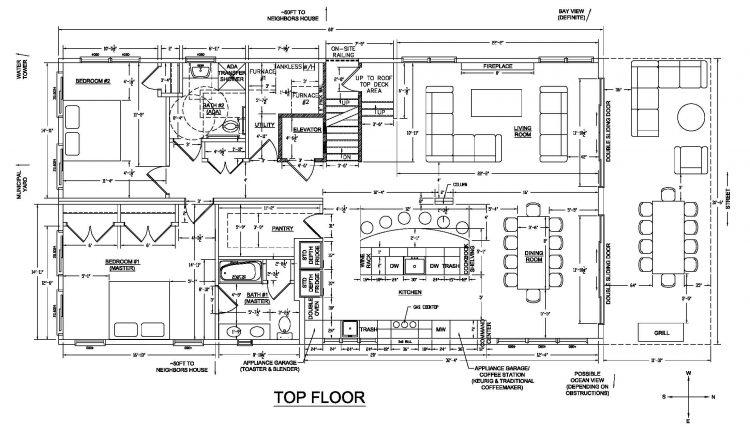 Umgekehrte Wohn Grundrissplanung – Was ist das und ist es für Sie richtig?