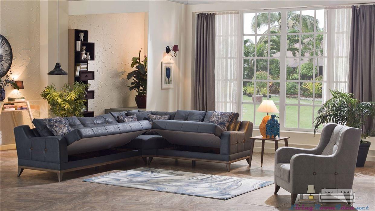 Aden Plus Corner Sofa Bed Set