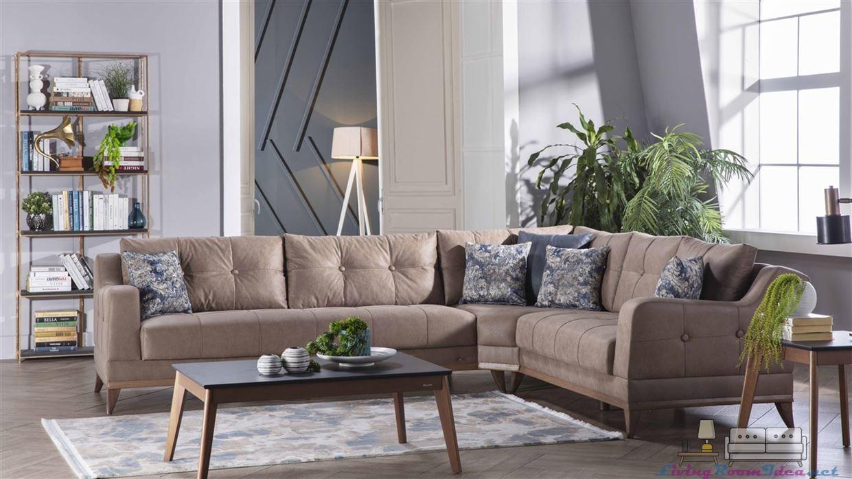 Aden Plus Ephesus Corner Sofa Set
