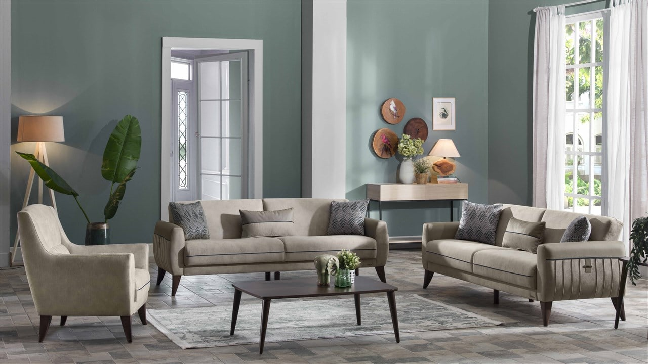 Bellona Cozy Lux Living Room Sets