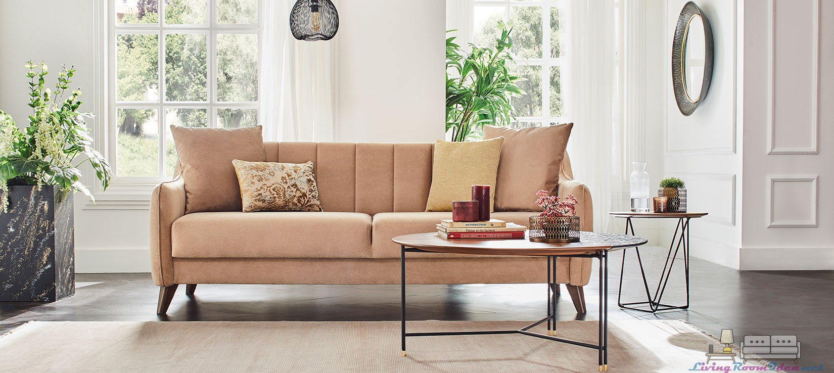 Enza Fabia Sofa Set