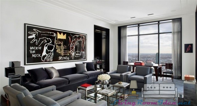 Living Room Color Ideas Fog Gray