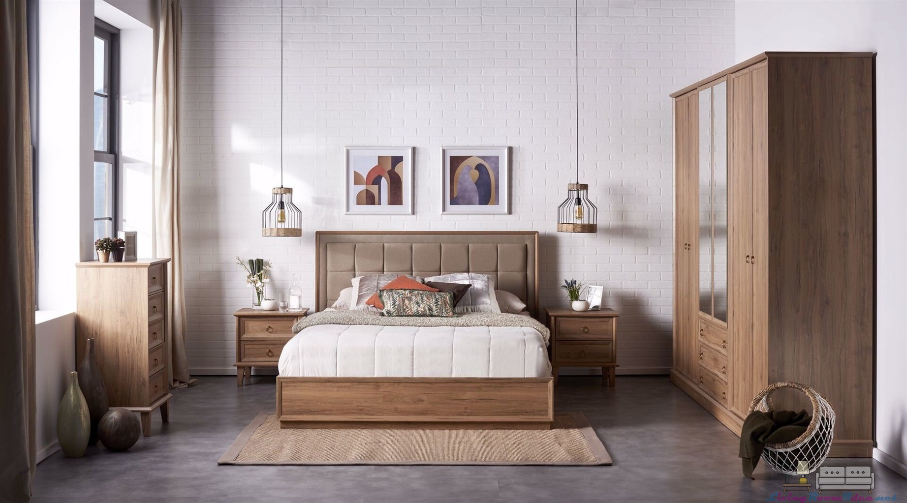 Palermo Pera Bedroom Set