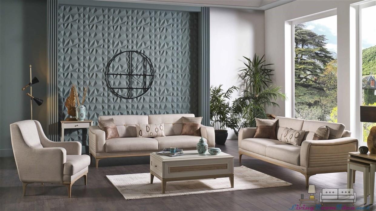 Vilza Sofa Set showroom