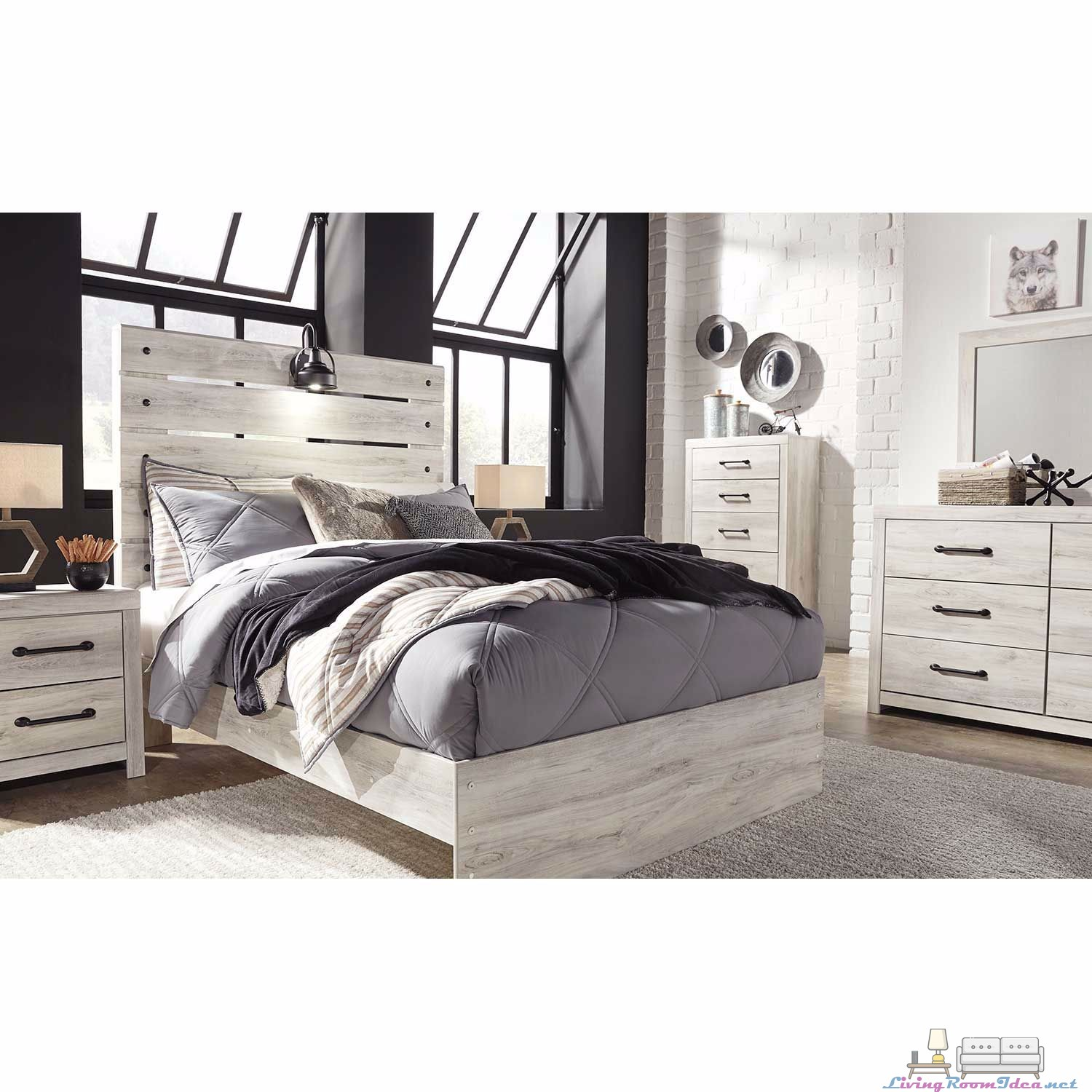 Cambeck 5 Piece Bedroom Set 2