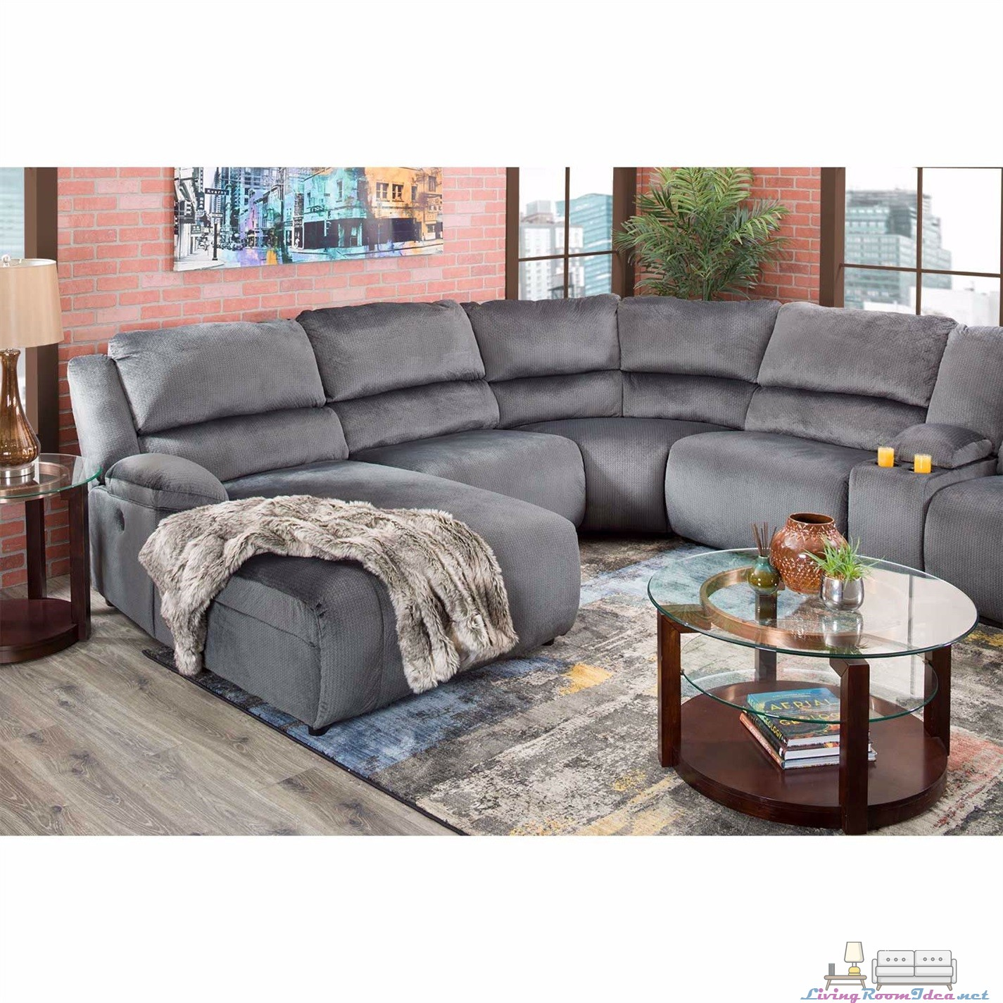 Clonmel 6 Pieces Sectional Living Room