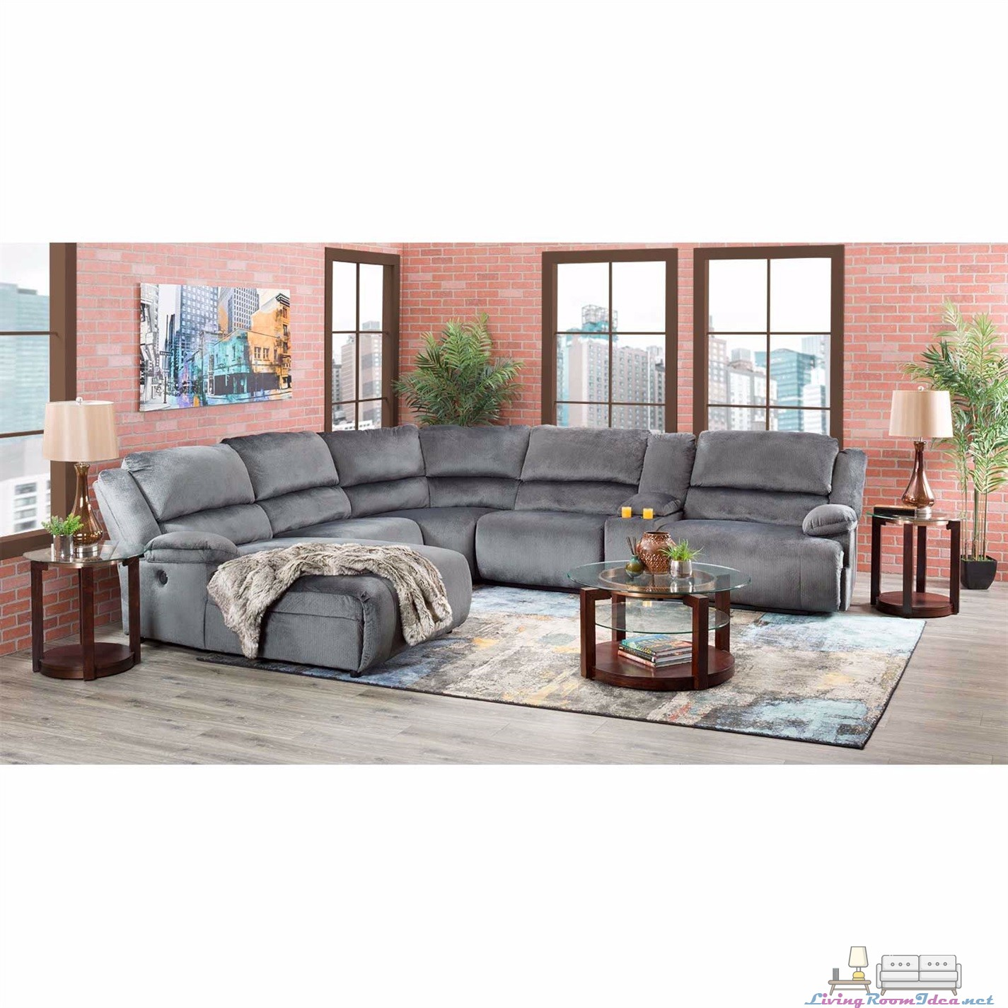 Clonmel 6 Pieces Sectional