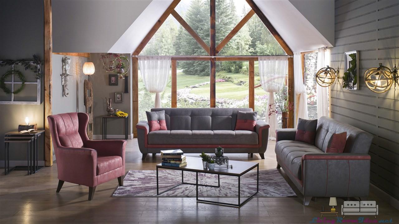 Veston Luxury Living Room Set