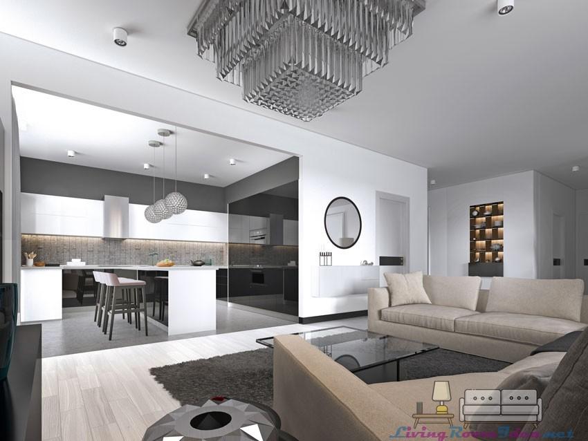 Modern Open Kitchen Design